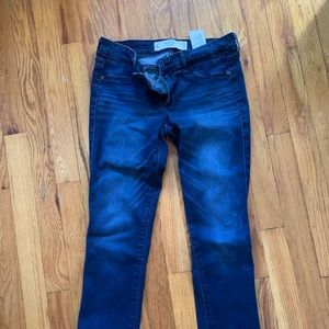 Abercrombie Dark Wash Jeggings